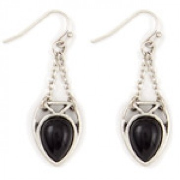Amour Onyx Earrings