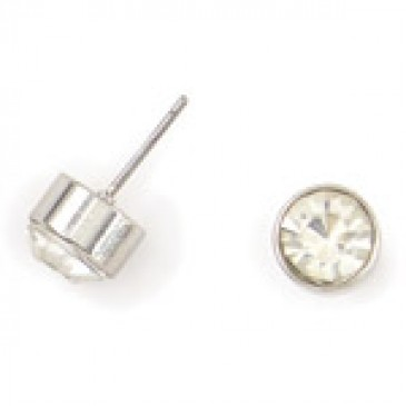 Victoria Stud Silver Earrings