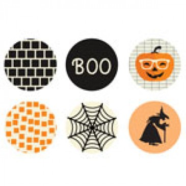 Halloween Medium Locket Backdrops