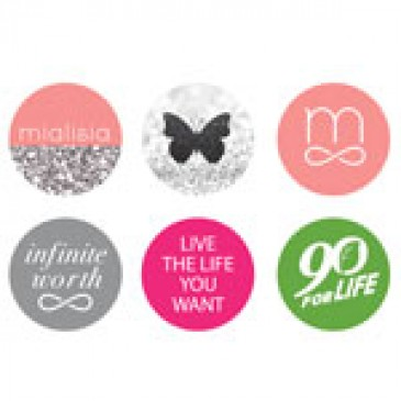 Logos Medium Locket Backdrops
