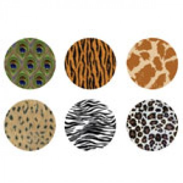 Animal Print Medium Locket Backdrops