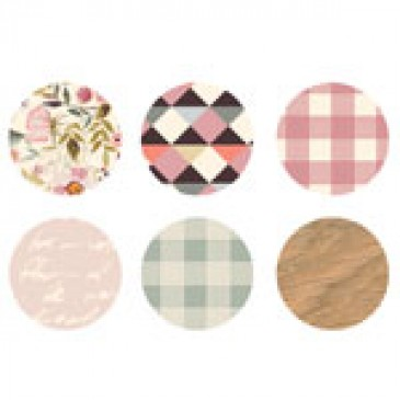 Pastel Print Medium Locket Backdrops