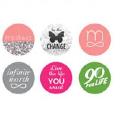 Logos Large Locket Backdrops