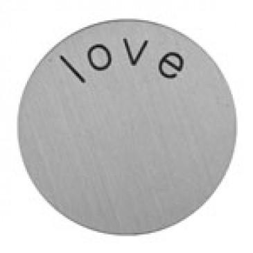 Love Mini Silver Coin