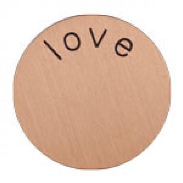 Love Mini Rose Gold Coin
