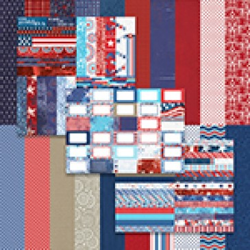 Red, White, and Beautiful by Katie Pertiet Bundle