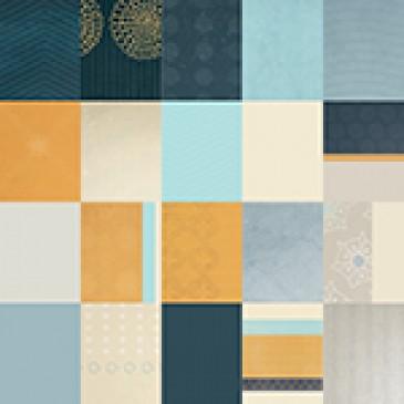 Clean Slate Blue Designer Cardstock