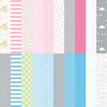 Baby Bundle by Katie Pertiet Designer Cardstock - Set 10