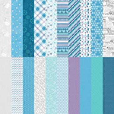 Winter Wonders by Katie Pertiet Designer Cardstock - Set 10