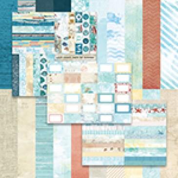 Sweet Summer by Katie Pertiet Designer Cardstock - Set 10