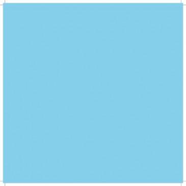 Sky Blue Solid Color Cardstock