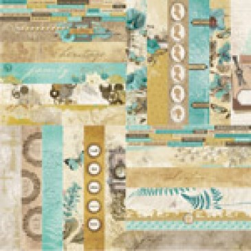 Miracles and Milestones by Katie Pertiet Border Strips - Set 12