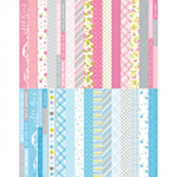 Pocket Baby Bundle Border Strips by Katie Pertiet - Set 30