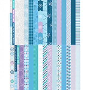 Pocket Winter Wonders Border Strips by Katie Pertiet - Set 30