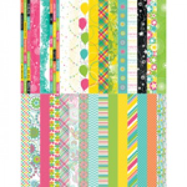 Pocket Party Border Strips by Katie Pertiet - Set 30
