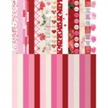 Pocket Love Border Strips by Katie Pertiet - Set 30