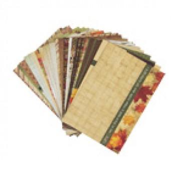 Thanksgiving Bountiful Blessings Designer Journal/Mounting Cards