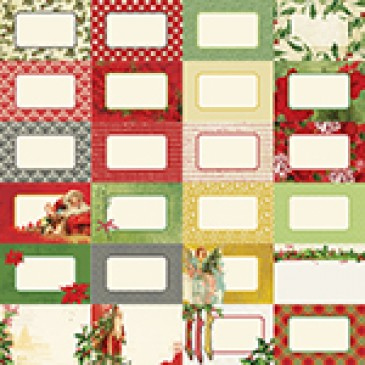 Joyous Noel by Katie Pertiet Designer Journal Cards
