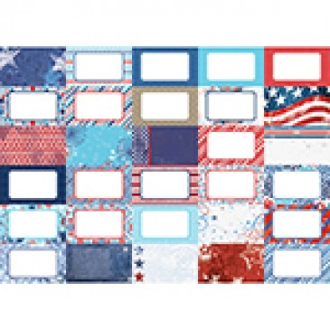 Pocket Red, White, and Beautiful Journal Cards by Katie Pertiet- Set 30
