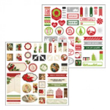 Christmas Joy Accent Stickers
