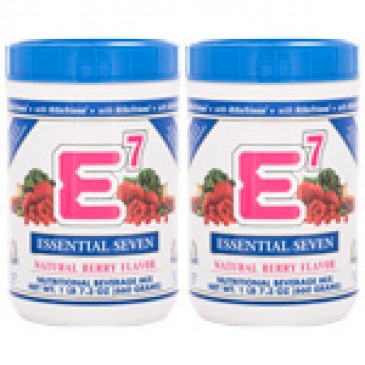 E7 Natural Berry ( 2 canisters)