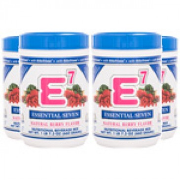 E7 Natural Berry (4 canisters)