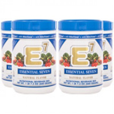 E7 Natural Flavor (4 canisters)