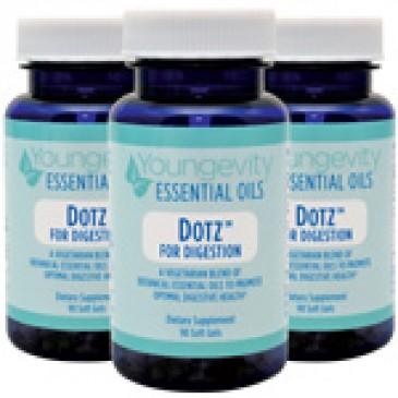 Dotz for Digestion - 90 soft gels (3 Pack)