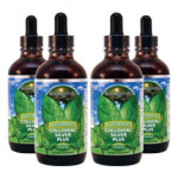 Ultimate Colloidal Silver Plus (4 bottles)