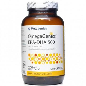 OmegaGenics EPA-DHA 500 Lemon