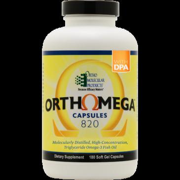 Orthomega 820 Capsules - 180 Count