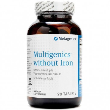 Multigenics without Iron 90 tabs