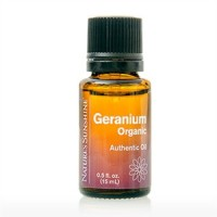 Geranium, Organic Essential Oil (15 ml)