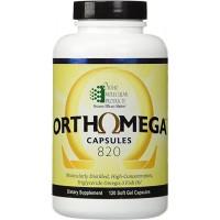 Orthomega 820 Capsules - 120 Count