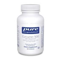 Curcumin 500 with Bioperine 120 vcaps