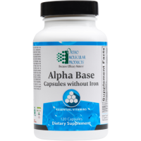 Alpha Base Capsules without Iron - 120 Count